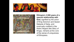Imperial Ethiopia's Unique Symbols, Structures & Role in the Modern World